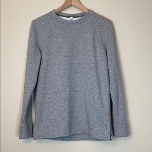 lululemon size 6 crewneck side zip pocket sweater